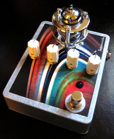 Saturnworks Dark Matter Tube Overdrive Guitar Pedal by Saturnworks, $149.00