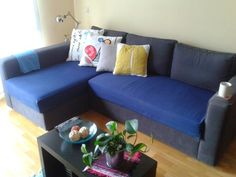 Sofa protective cover made by me, and cushions