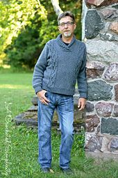 Crochet Pattern: Midwestern Warmth Men's Cabled Sweater **Permission to sell finished items Cable Sweater, Men Sweater, Sweater Knitting Patterns, Dress Slacks, Knit Picks, Gathered Skirt, Sweater Design, Fit Women, Tutorials