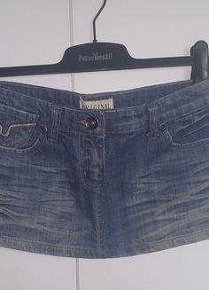 Kup mój przedmiot na #vintedpl http://www.vinted.pl/damska-odziez/spodnice/13831363-krotka-mini-spodniczka-spodnica-dzins-dzinsowa-jeans-roz-34-xs