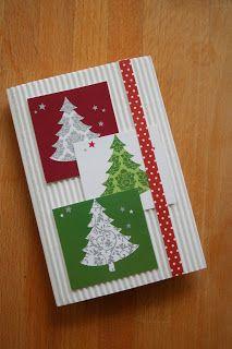 Képeslapok karácsonyra- handmade christmas cards
