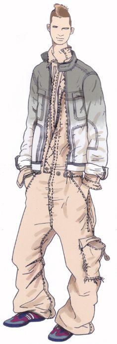 Teen spirit. Jaa design original fashion illustration. http://croquisdemodes.tumblr.com/