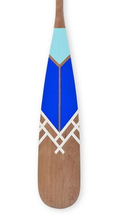 Artisan Painted Canoe Paddles from Norquay - ESKER