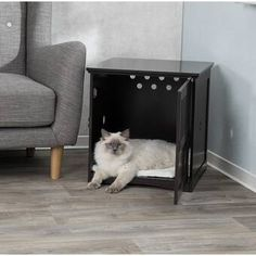 Archie & Oscar™ Archie Slide Aside Pet Crate & Reviews | Wayfair Dog Cages, Pet Cage, Dog Crate End Table, Brown Dog, Pet Travel, Pet Carriers, All Dogs, Crates, Your Pet