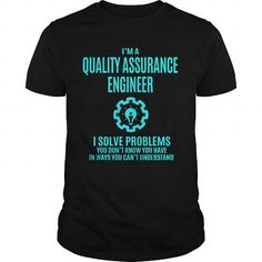 Awesome Tee QUALITY ASSURANCE ENGINEER T shirt