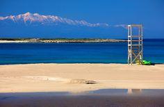 'Two seasons in one photo' by Hercules Milas Most Beautiful Beaches, Beach Look, Lifeguard, Greek Islands, Hercules, First Photo, Summer Looks, Greece, Seasons