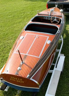 chris craft wooden boats