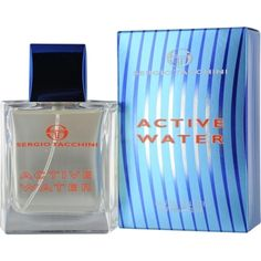 Launched by the design house of Sergio Tacchini in 2005, ACTIVE WATER by Sergio Tacchini for Men posesses a blend of: caraway, white musk, sandalwood, egyptian palargonium, cedar It is recommended for  wear.