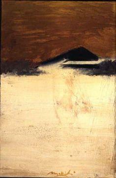 #osservarte Carlo Mattioli, La spiaggia, 1972