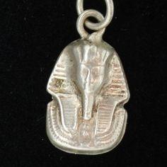 Pharaoh King Tut Egyptian Charm Vintage Sterling Silver | eBay