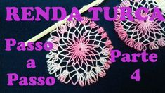 RENDA TURCA Passo a Passo Como fazer PARTE 4 Ponto diferenciado Tenerife, Couture Invisible, Needle Lace, Lace Making, Embroidery Stitches, Dream Catcher, I Am Awesome, Sewing, Hair Accessories
