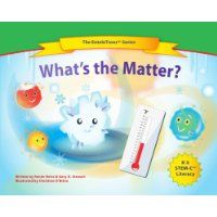 Reviewed by Katelyn Hensel for Readers' Favorite   In What's the Matter?, Renee Heiss and Gary A. Stewart bring to life something that is usually pretty boring: temperatures, the particles of matter, and other basic science tools. Ning, Ellie, and Priti are particles that are bent on saving their good friend Ice from melting. They've got to get to the North Pole, but they're too late; now they are going to hang out with Water for a bit. As the book progresses, we learn all about the water…