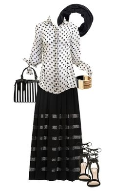 """monochrome skirts style"" by wilypr on Polyvore featuring Michael Kors and ALDO"