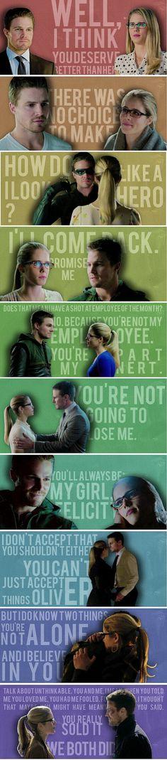 Olicity quotes season 2 #Arrow