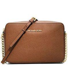 MICHAEL Michael Kors Jet Set Travel Large Crossbody - Handbags & Accessories - Macy's