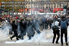 Movilizaciones internacionales elevan la presión sobre la cumbre del clima de París