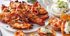 Make the most of your leftover Christmas ham with our mouthwatering crispy potato skins