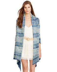 Striped Jersey Cardigan - Polo Ralph Lauren Cardigans - RalphLauren.com