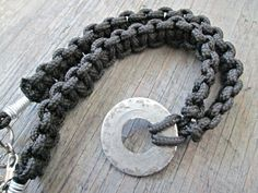 Washer Necklace  For Him  Industrial Necklace  by EarthChildArt