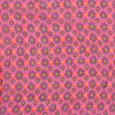Marc Jacobs Magenta Mini Floral Silk Chiffon Fabric by the Yard | Mood Fabrics