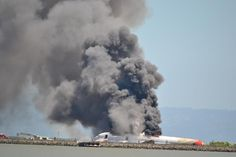Asiana Flight 214 is seen after it crashed at San Francisco International Airport in San Francisco, Saturday, July 6, 2013.