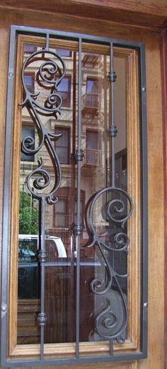 1000 images about window grills on pinterest grill for Metal window designs
