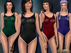 Sims 4 CC's - The Best: Swimsuit by Harmonia