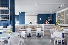 Designed by Studio Tate, this bold yet refined interior is the personification of Middletown Cafe's 'modern muse' - the Duchess of Cambridge Kate Middleton.