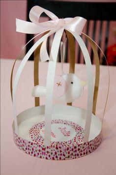 Oi! Oficina de Idéias: Festa Passarinho - Julia 1 aninho