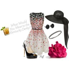 Kentucky Derby, created by fluffof5 on Polyvore