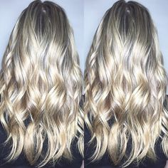 COLOUR SO GORGEOUS HAD TO DO A DOUBLE TAKE . . . Colour cred  goes to Jody Jodi Kezar . . . #hairgoals #hairoftheday #torontosalon #the6 #wavywednesday #balayage #highlights #waves #hairpainting #modernsalon #healthyhair #torontostyle #style #fashion #follow4follow #f4f #instagood #like #upgraded #kevinmurphy #salonmagazine #btconeshot_hairpaint16 #btconeshot_haircolor16 #btconeshot_color16