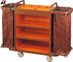 Hotel Multifunction Housemaid Cart-Housemaid Trolley