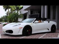 2008 Ferrari F430 Spider F1 For Sale, with drive by, and exhaust - http://webjornal.com/3812/2008-ferrari-f430-spider-f1-for-sale-with-drive-by-and-exhaust/