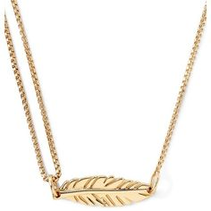 Alex and Ani 'Providence' Pull Chain Feather Pendant Necklace (€71) ❤ liked on Polyvore featuring jewelry, necklaces, gold, egyptian jewelry, 14k heart necklace, pendants & necklaces, feather pendant necklace and heart necklace