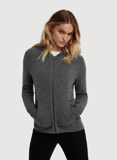 Bright Banana Republic Camisole and Cashmere Hoodie Set | Cashmere ...