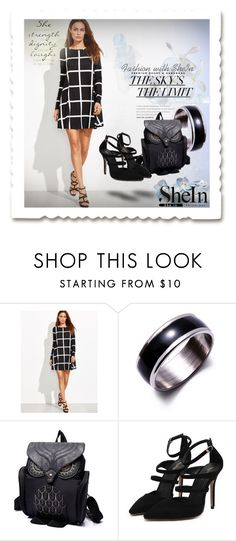 """SheIn 007"" by silvijo ❤ liked on Polyvore featuring WithChic"