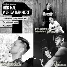 Hör mal wer da hämmert! 15.09. Tanzhaus West [Promo] by Guido Braun / Waffensupermarkt | Free Listening on SoundCloud