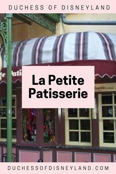 La Petite Patisserie, New Orleans Square, Disneyland Disneyland History, Waffle Sticks, New Orleans, Small Batch Baking