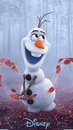 wallpapers for iPhone Disney Frozen Olaf, Frozen 3d, Disney Princess Frozen, Disney Princesses, Arte Disney, Disney Art, Disney Films, Frozen Wallpaper, Disney Phone Wallpaper