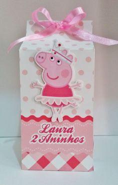 Caixinha Lembrancinha Peppa Pig                                                                                                                                                                                 Mais