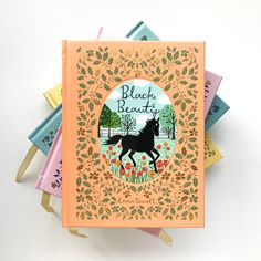 Cover and end paper illustrations for children's classics 'The Secret Garden', 'Anne of Green Gables', 'Heidi' and 'Black Beauty' for Barnes and Noble, USA (Sterling Publishing). Leather cover with… I Love Books, New Books, Good Books, Gratitude Book, Secret Garden Book, Sterling Publishing, Paper Illustration, Beautiful Book Covers, Coffee And Books
