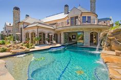 A swim-thru house!