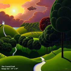 Paul Corfield, Landscape painter #artpeople https://www.artpeoplegallery.com/paul-corfield-landscape-p…/