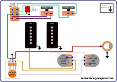 Series/Parallel wiring diagram! Bass Guitar in 2019