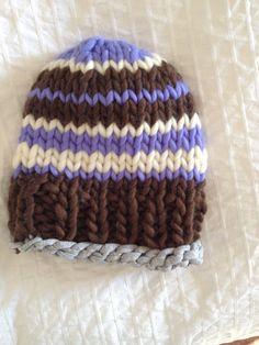 Cappello  100& lana peruviana di KnitYourself su Etsy