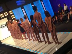 Naturists on the runway with Alyssa Milano uncensored on Project Runway All Stars Season 5 ep 5.