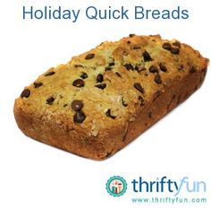 Everyone loves quick bread for the holidays right? Well here are some quick and easy quick breads that can be given as gifts this year. These breads are different from the usual pumpkin, zucchini and banana bread. Hope you enjoy making them.