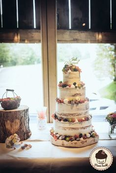 Tutorial Der Perfekte Naked Cake Wedding Cakes Naked Cakes