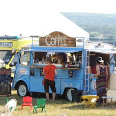 Coffee Camper on site