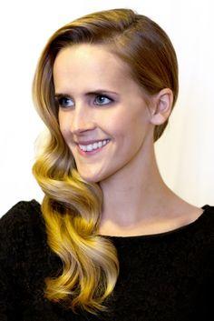 Beautiful Holiday Hair-- Tutorial on DesignLovesDetail.com; Hair & Make-Up by Steph!